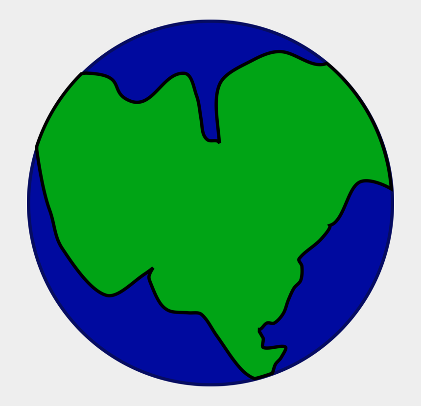 planets clipart, Cartoons - Planet Clipart The Cliparts - Earth As One Big Continent