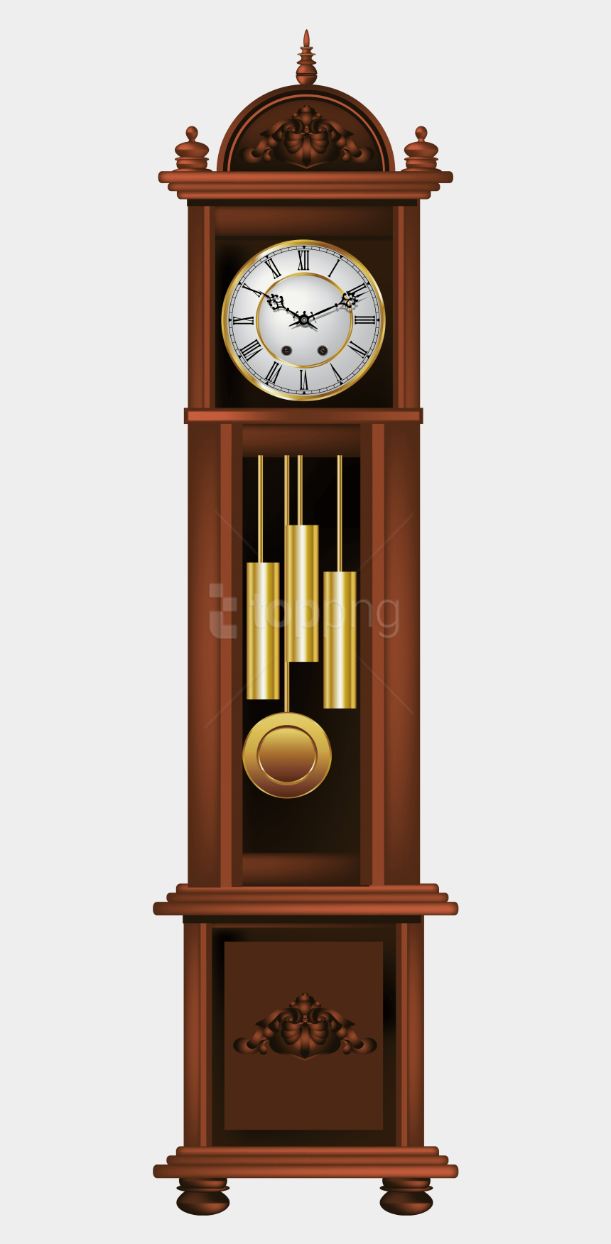 timer clipart, Cartoons - Grandfather Clock Clipart Png
