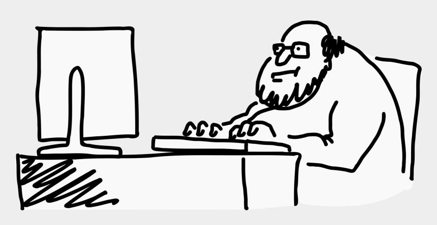 nerd clipart, Cartoons - Geek Icons Animation - Geek Computer Drawing