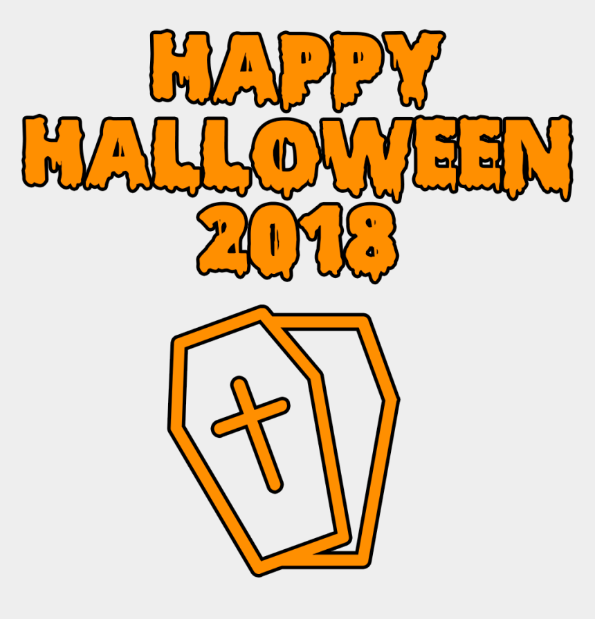 coffin clipart, Cartoons - Happy Halloween 2018 Scary Coffin Bloody Font Clipart - Happy Halloween 2018 Png