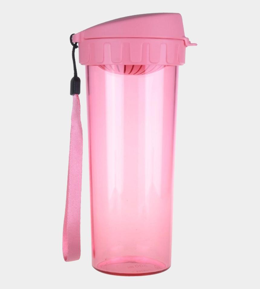 water bottle clip art, Cartoons - Rope Tupperware Plastic Water Bottle Brands Cups Clipart - Pink Water Bottle Png