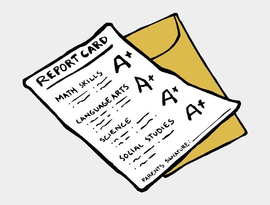 report card clipart, Cartoons - Report Cards - Report Card