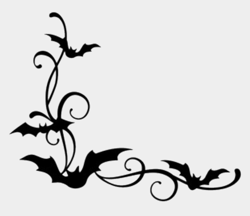 halloween border clipart, Cartoons - #bats #borders #halloween - Bat Border