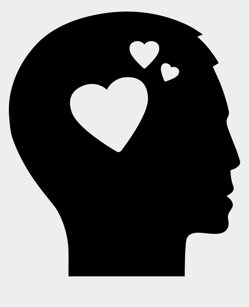 person thinking clipart, Cartoons - Lost Vector Man Thinking - Thinking About Love Icon
