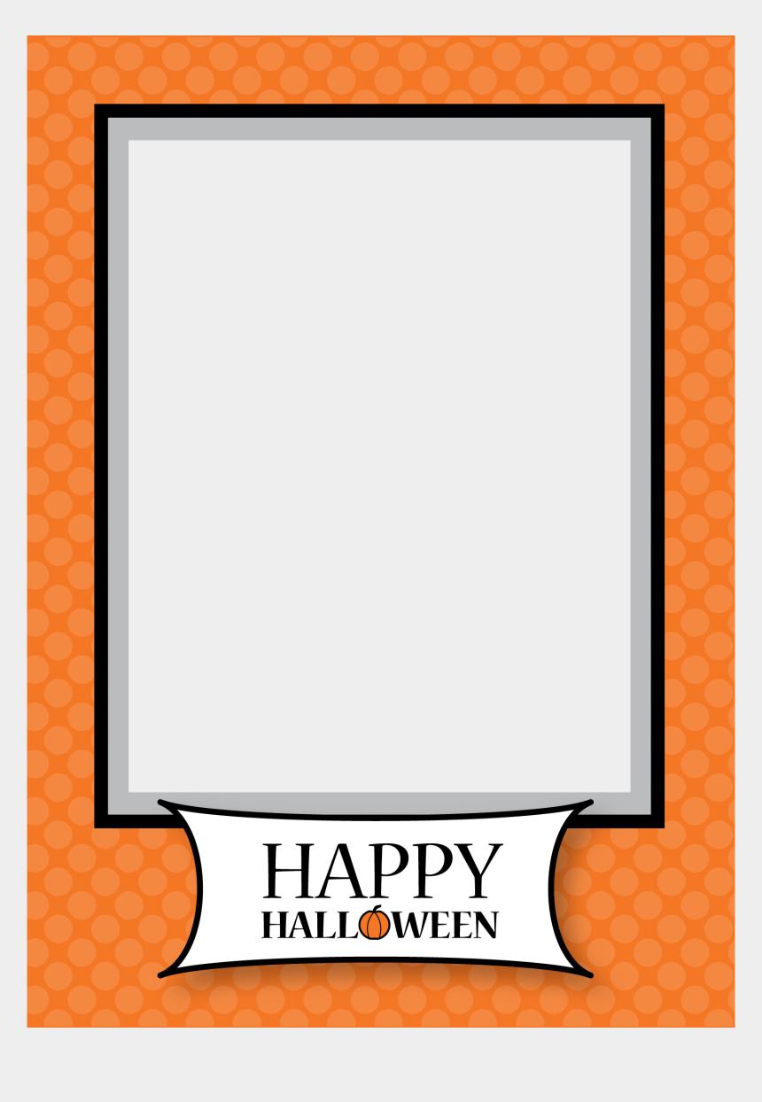 halloween border clipart, Cartoons - Halloween Frames Png - Happy Halloween Picture Frame