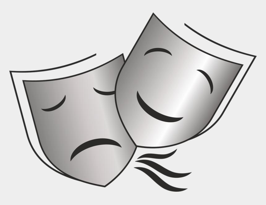 acting clipart, Cartoons - Acting Png - Significado De Las Mascaras De Teatro