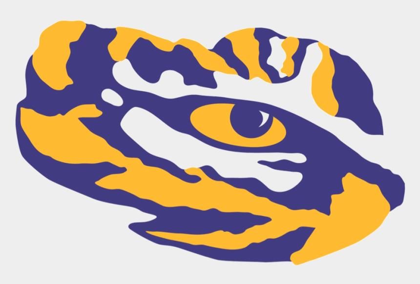 dirt clipart, Cartoons - Lsu Tiger Eye Png - Lsu Tigers Eye Logo