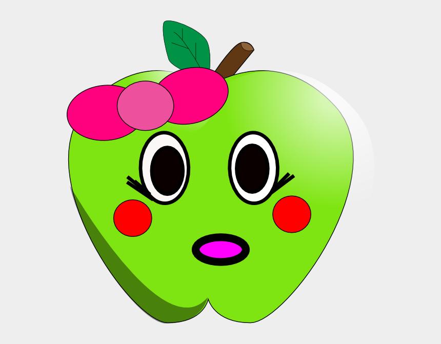 shy clipart, Cartoons - Cute Apple Clipart