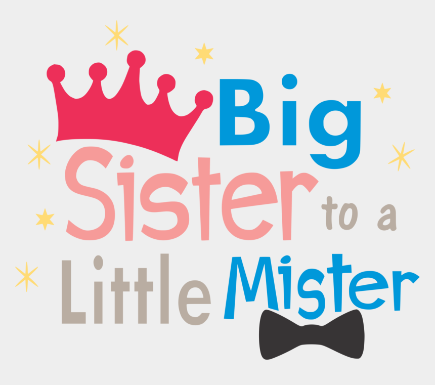 big sister little sister clipart, Cartoons - Big Sister To A Little Mister