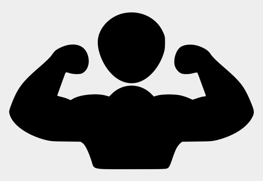flex muscle clipart, Cartoons - Muscular Person Svg Png - Strong Black Man Cartoon