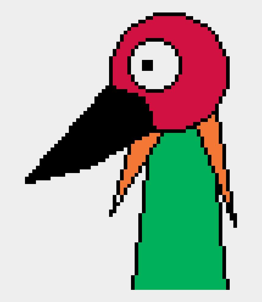 red headed woodpecker clipart, Cartoons - Parrot - Cartoon A+