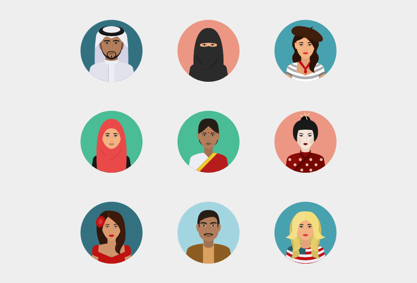 split personality clipart, Cartoons - Person Icons Culture - Teamwork Icons