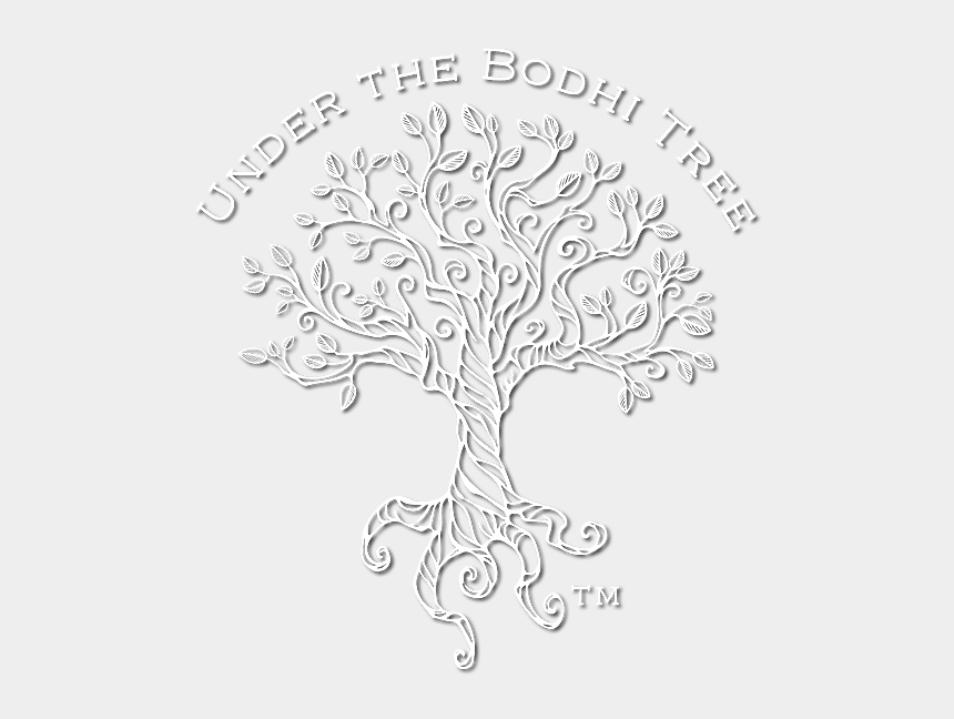 tree drawing clipart, Cartoons - Drawing Geometric Tree - Line Drawing Bodhi Tree