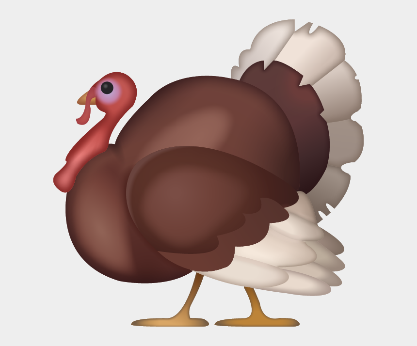 free give thanks clipart, Cartoons - Iphone Turkey Emoji Png