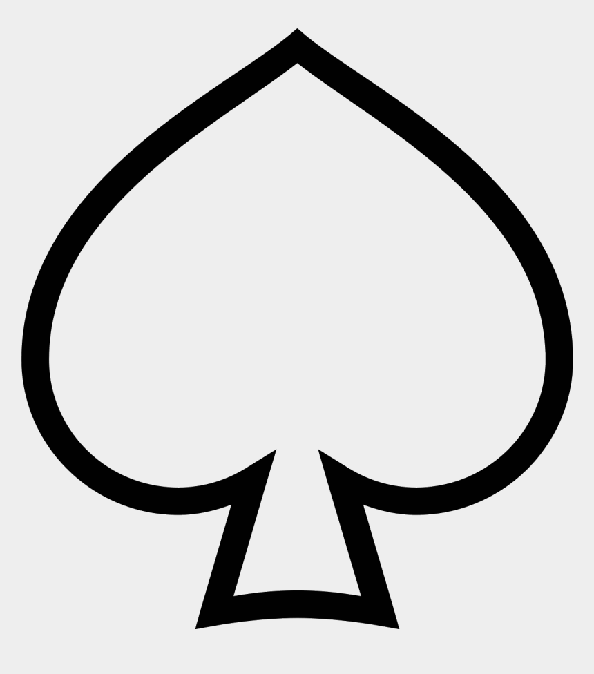spade card shape  Ace Of Spades Card Png - Ace Of Spades Shape, Cliparts ...