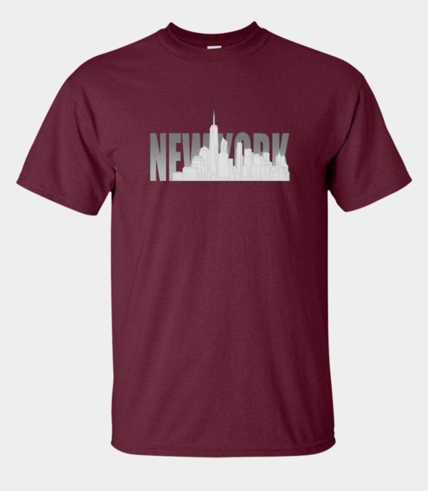 freedom tower clipart, Cartoons - Nyc New York City Skyline Souvenir Freedom Tower Apparel - T-shirt
