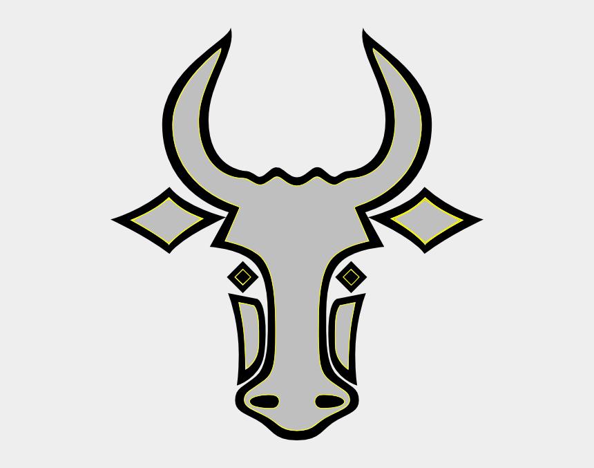 steer head clipart, Cartoons - Horns Vector Bull Face - Easy Bull Head Drawing
