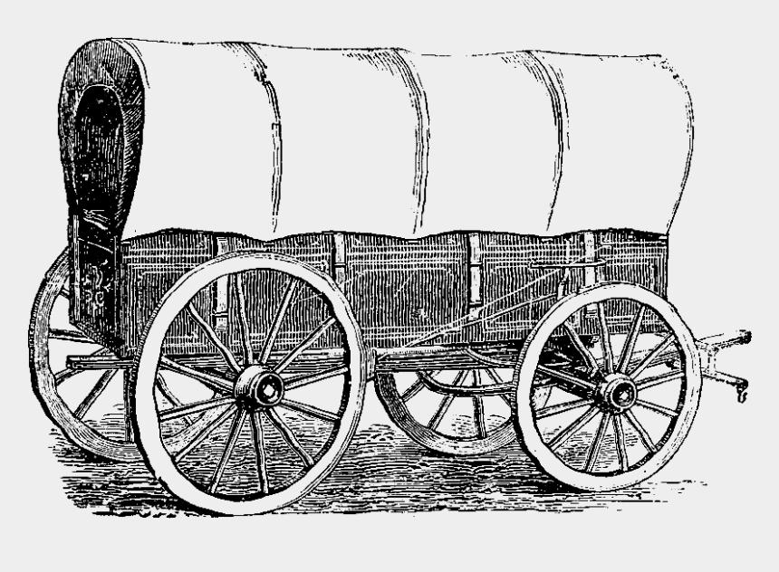 free pioneer clipart, Cartoons - Pioneer Clipart Karwahe - Covered Wagon 1800s