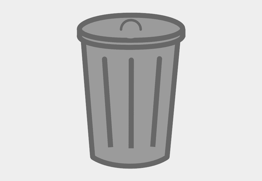 trash bin clipart, Cartoons - This Png File Is About Clipart , Plastic , Dustbin - Trash Can Transparent Background