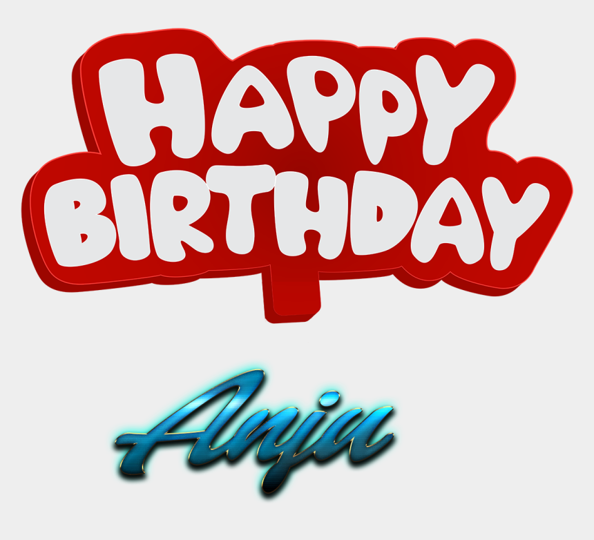 happy birthday grandson clipart, Cartoons - Anju Happy Birthday Name Logo - Happy Birthday To You Mushtaq