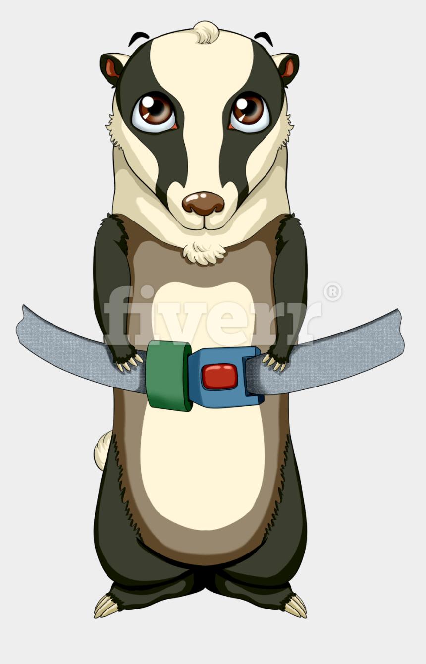 badger mascot clipart, Cartoons - Big Worksample Image - Cartoon