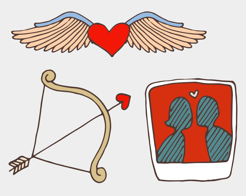 Cupid Heart Valentines Day Clip Art, PNG, 525x700px, Watercolor, Cartoon,  Flower, Frame, Heart Download Free