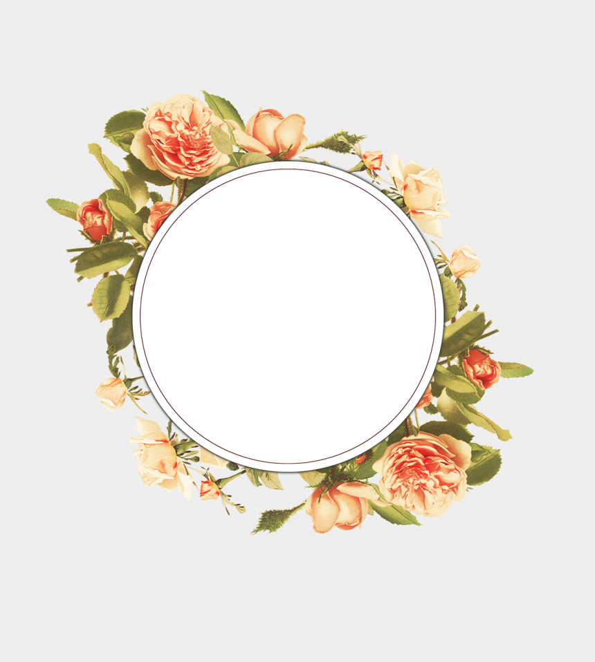 Vintage Floral Frame Collection Free To Download Vintage Floral