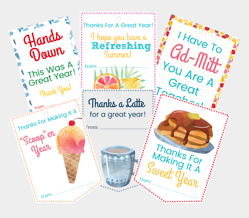 teacher gift tag clipart, Cartoons - Teachers Gifts They Will Love & You Will Too With Free - Teacher Thank You Ice Cream