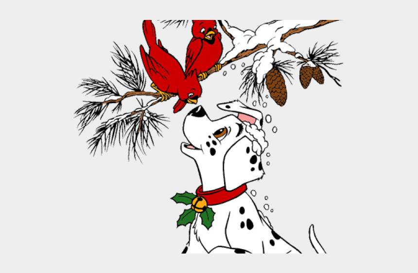 Christmas Cardinals Clipart.Dalmatian Clipart Christmas Christmas Clipart Dalmatian