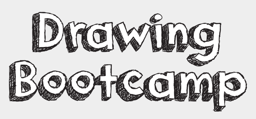 easy things to draw clipart, Cartoons - Drawing Font