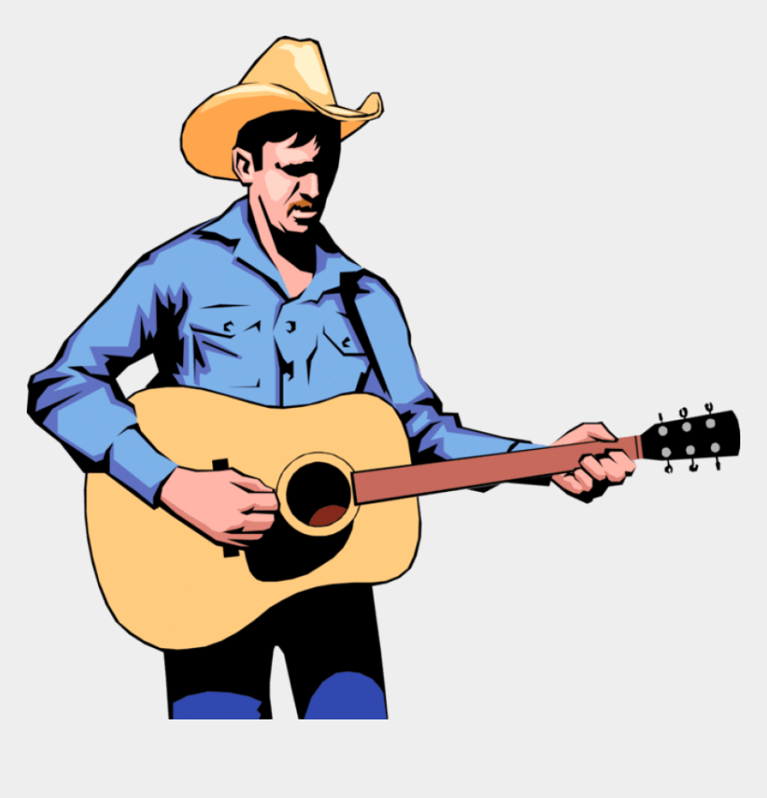 country western music clipart, Cartoons - Guitar Vector Png - Country Music Singer Clipart