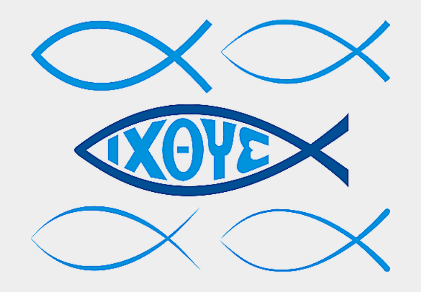 religious fish clipart, Cartoons - Take An Illustrated Tour Of Christian Symbols - Greek Jesus Fish