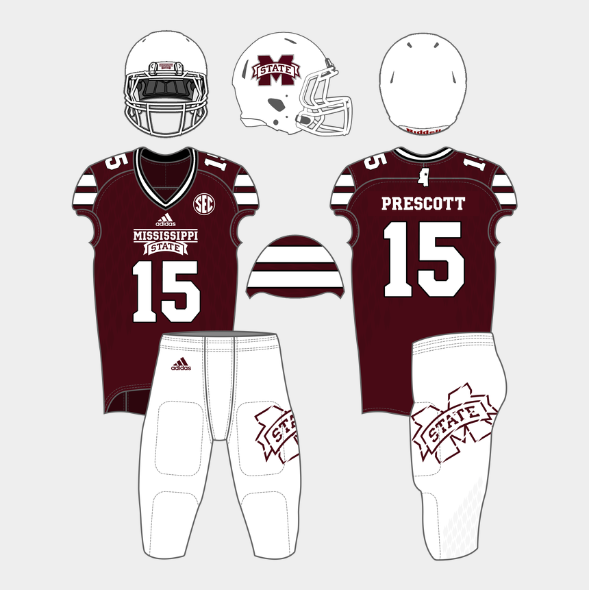 mississippi state bulldog clipart, Cartoons - Mississippi Outline Png - Maroon And Silver Jersey
