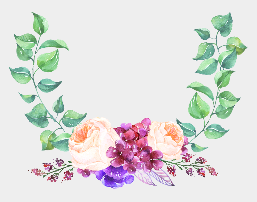 rose garland clipart, Cartoons - 0℃素材30 Floral Wreath, Floral Crown, Garlands, Flower - ملف انجاز الطالبة جاهز للطباعه