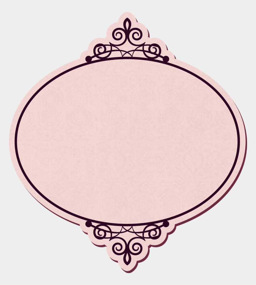 vintage oval frame clipart, Cartoons - Vintage Ivory Printing Frame Label Png Download Free - Vintage Png Frames Label