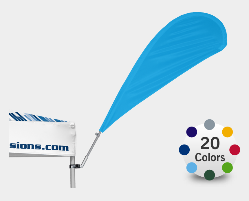 colorful flag banner clipart, Cartoons - The Advertising Tent Bowflag® 30° In Stock Colors Is - Graphic Design