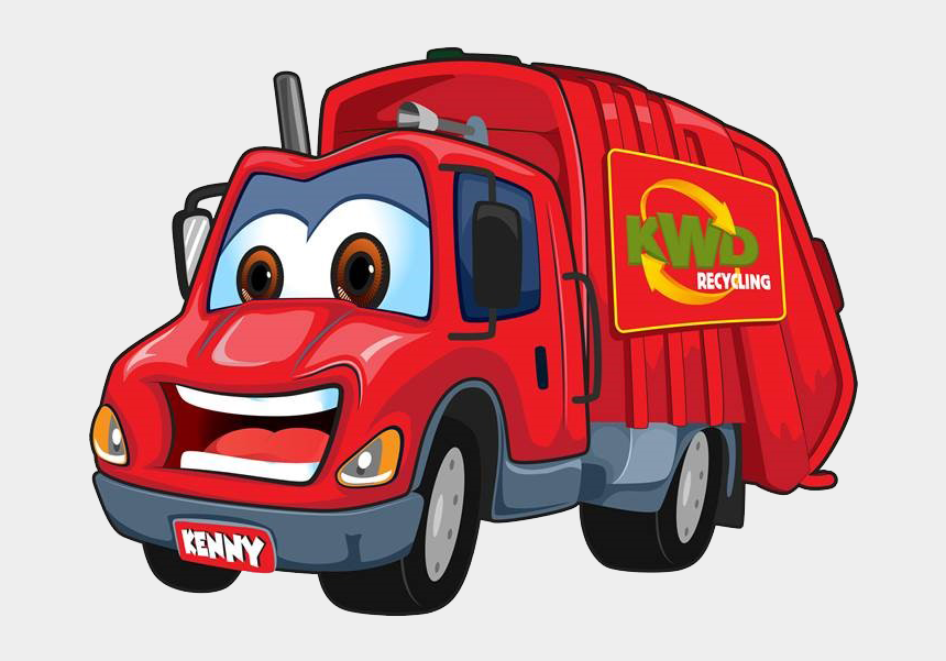 recycling truck clipart, Cartoons - Make Your Own Kenny The Kwd Truck - Kenny Kwd Truck