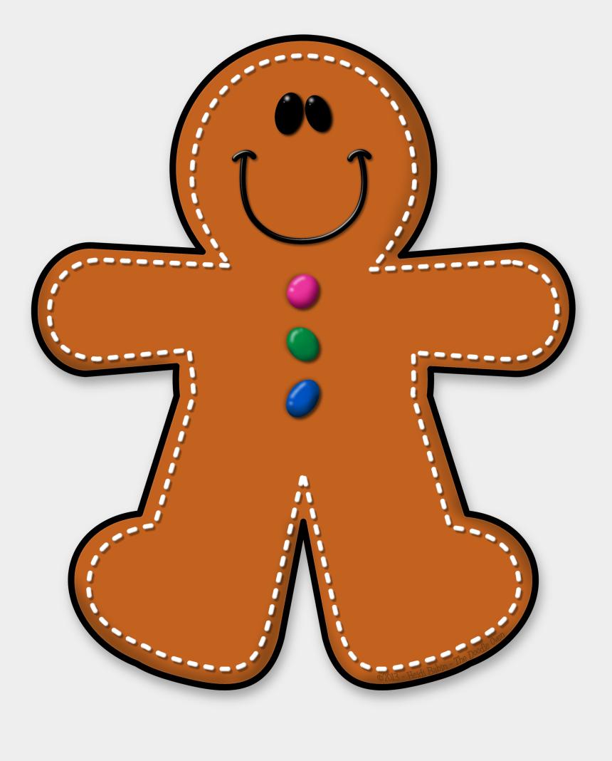 cute gingerbread man clipart, Cartoons - ✿**✿*ginger*✿**✿ - Clipart Gingerbread Man