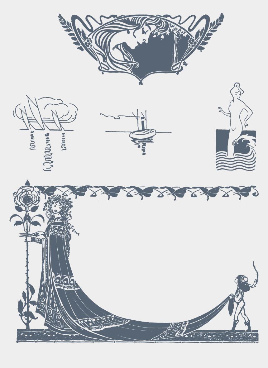 free art nouveau clipart, Cartoons - 35 Best Free Art Nouveau Fonts - Art Nouveau Vector Free