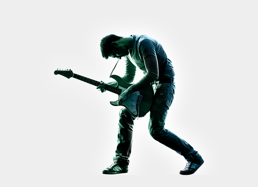 stage performance clipart, Cartoons - Stage Performance Png - Guitarist Png