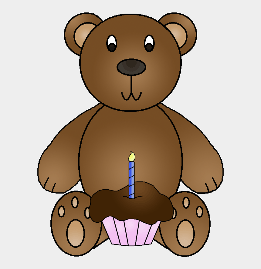 eric carle brown bear clipart, Cartoons - Clipart Aniversário - Baby Bear Goldilocks And The Three Bears