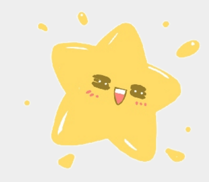 cute stars clipart, Cartoons - Kawaii Star Transparent Freetoedit Cute Sticker Transparent - Kawaii Star Transparent