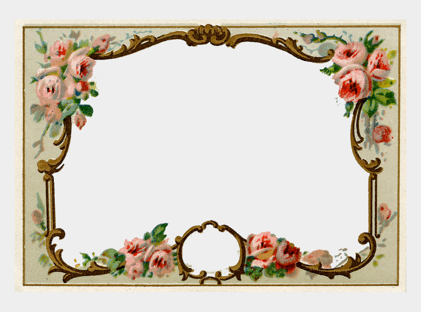vintage labels clipart, Cartoons - Journal Card ~ Zibi Vintage Scrap - Transparent Background Vintage Frame