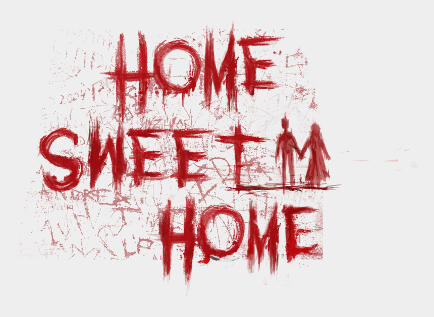 home sweet home clipart black and white, Cartoons - Home Sweet Home Png