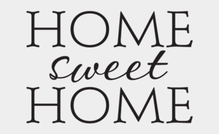 home sweet home clipart black and white, Cartoons - Home Sweet Home Black Pillow Covers, Pillow Covers,