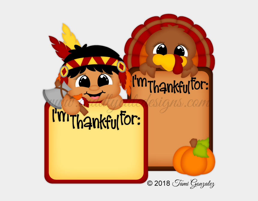 thanksgiving pilgrims and indians clipart, Cartoons - Thankful Indian & Turkey Blocks - Cartoon