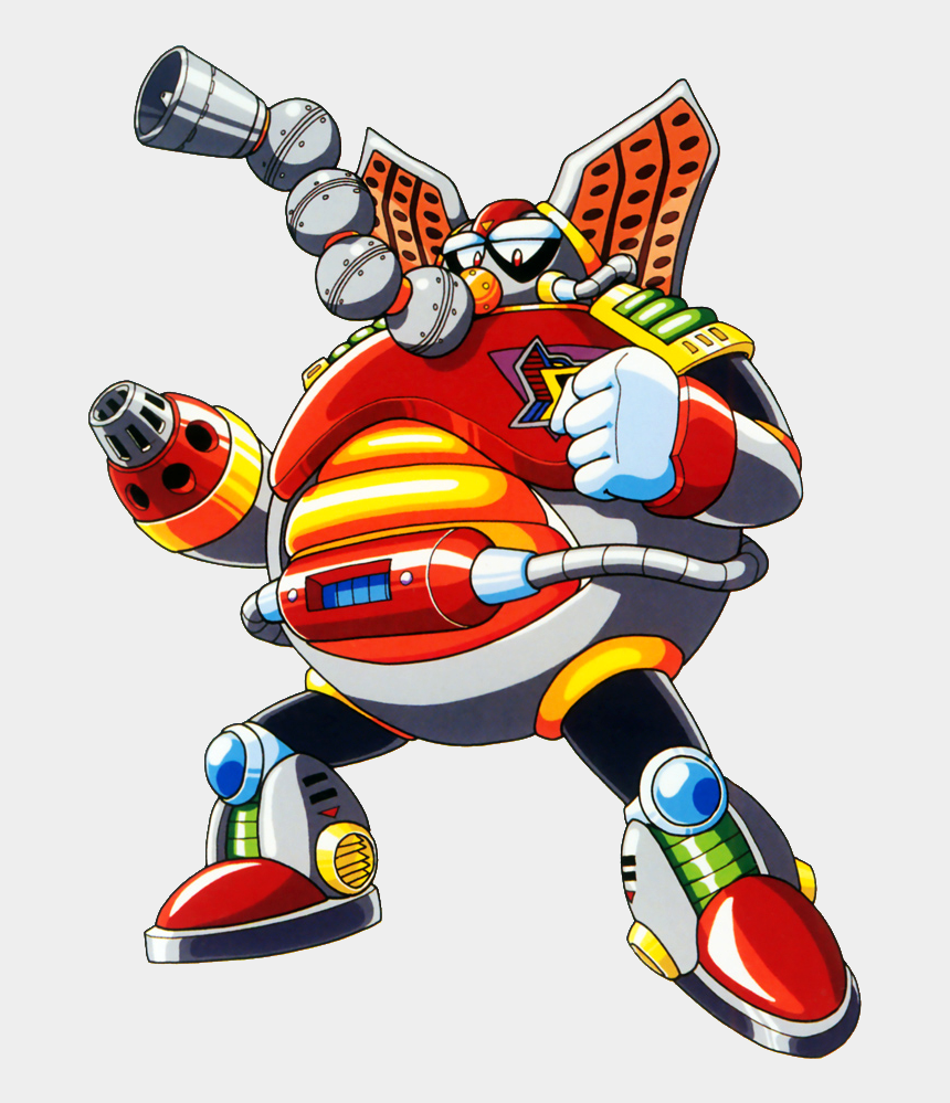 mega man clipart, Cartoons - Megaman X Flame Mammoth
