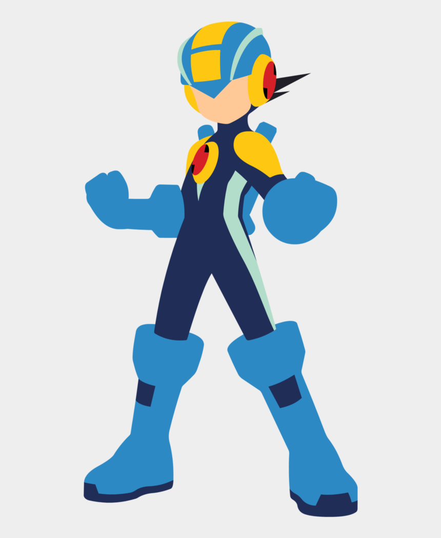 mega man clipart, Cartoons - Megaman Vector By Jax89man - Mega Man X Vector
