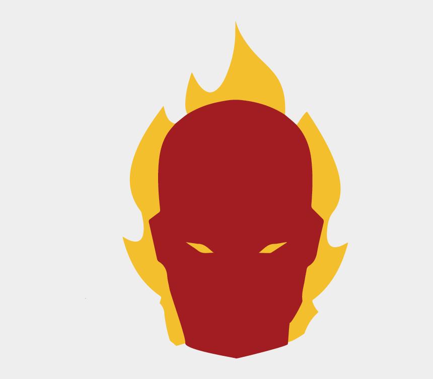 flaming torch clipart, Cartoons - Human Torch - - Human Torch Logo