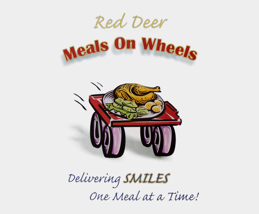 meal time clipart, Cartoons - Red Deer Meals On - Chicken Dinner Clip Art